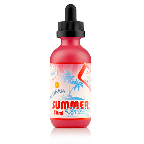 Dinner Lady Summer Holidays Ice Strawberry Bikini Shortfill E-LIquid - Vape Chic