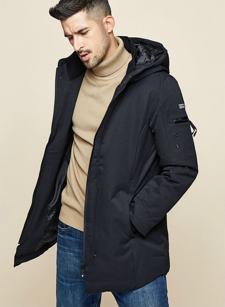 Men's Hooded Winter Parka