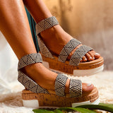 Tamsin Platform Sandals - SHOPPLEHUB