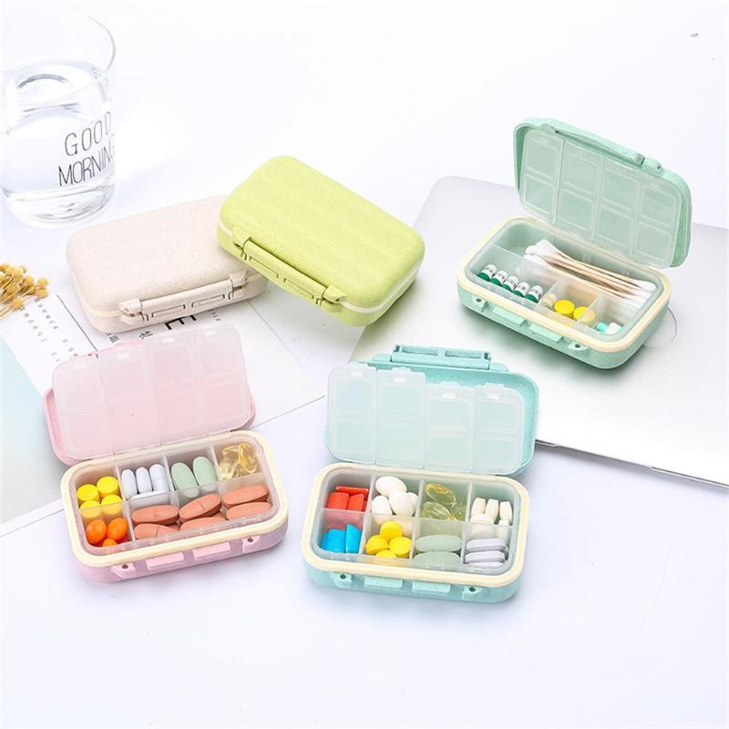 Portable Mini 8Grids Pill Box - SHOPPLEHUB
