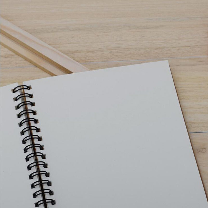 Soft Cover Blank Paper Notebook - SHOPPLEHUB