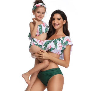 Mommy and Me Two Piece Swimsuit - SHOPPLEHUB