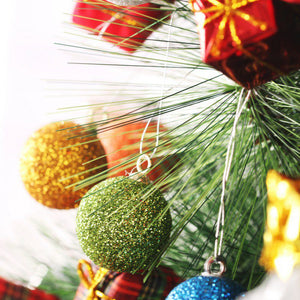 Christmas Glitter Baubles - SHOPPLEHUB