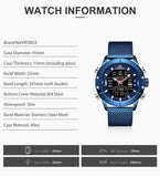 LED Naviforce Digital Watch - SHOPPLEHUB