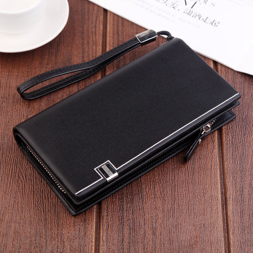 Formal Zipper Wallet - SHOPPLEHUB