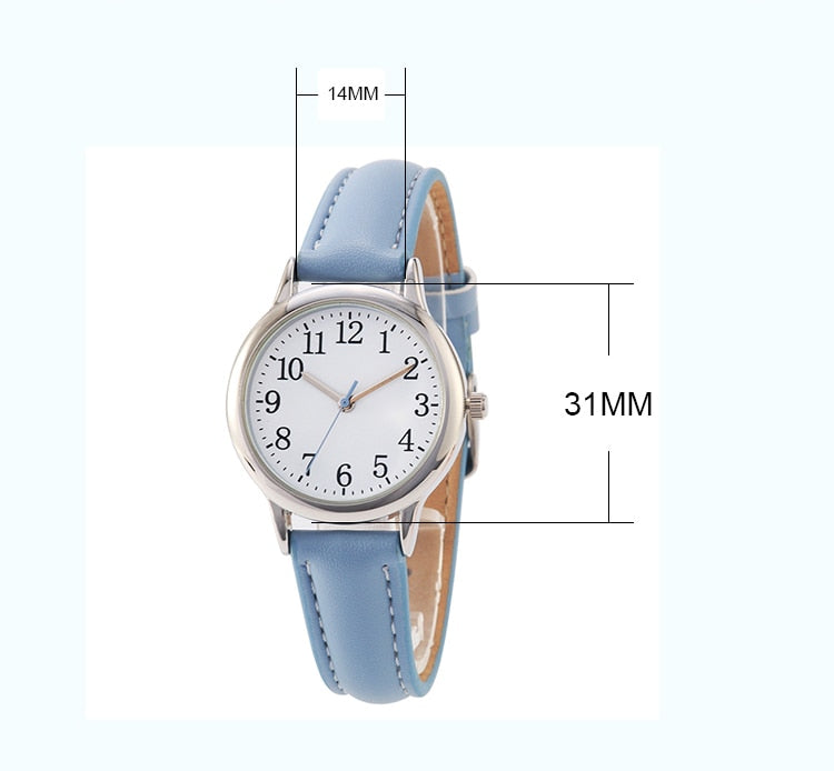 Candy Color Simple Dial Watch - SHOPPLEHUB