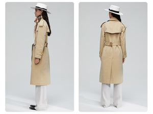 Jazzy Belted Trench Coat - SHOPPLEHUB