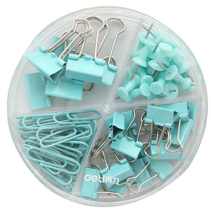 72pcs/box Metal Binder Clips - SHOPPLEHUB