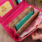 Spring Vibes Wallet + Coin Purse - SHOPPLEHUB