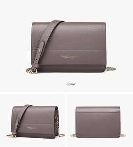 Genuine Leather Messenger Purse - SHOPPLEHUB