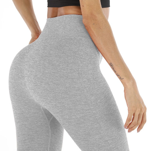 Kaminsky Solid Fitness Leggings - SHOPPLEHUB