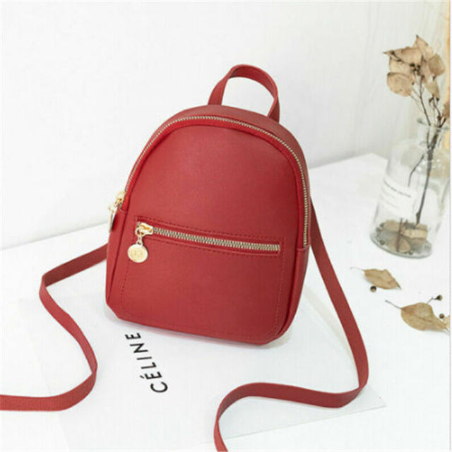 Cute Mini Backpack - SHOPPLEHUB