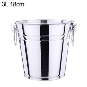 Stainless Steel Ice Bucket - SHOPPLEHUB