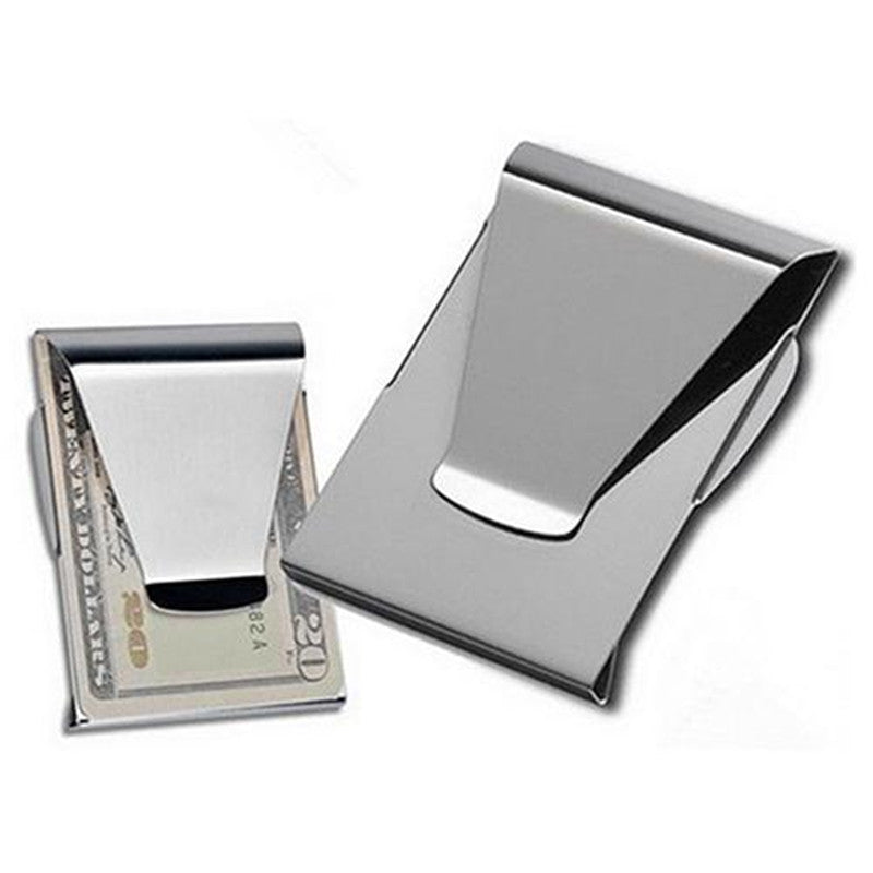 Stainless Steel Money Clip - SHOPPLEHUB