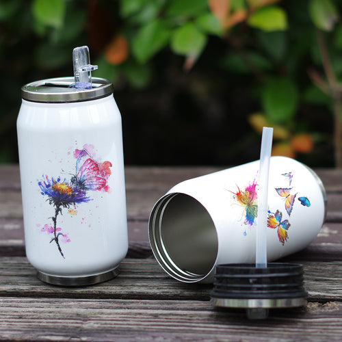 Butterfly Themed Thermo Cup - SHOPPLEHUB