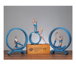 Nordic Yoga Girl Ornaments - SHOPPLEHUB