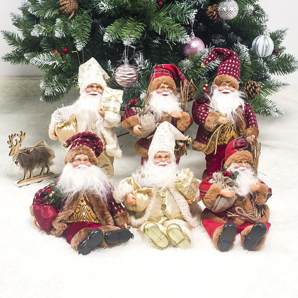 Santa Claus Sitting Doll - SHOPPLEHUB