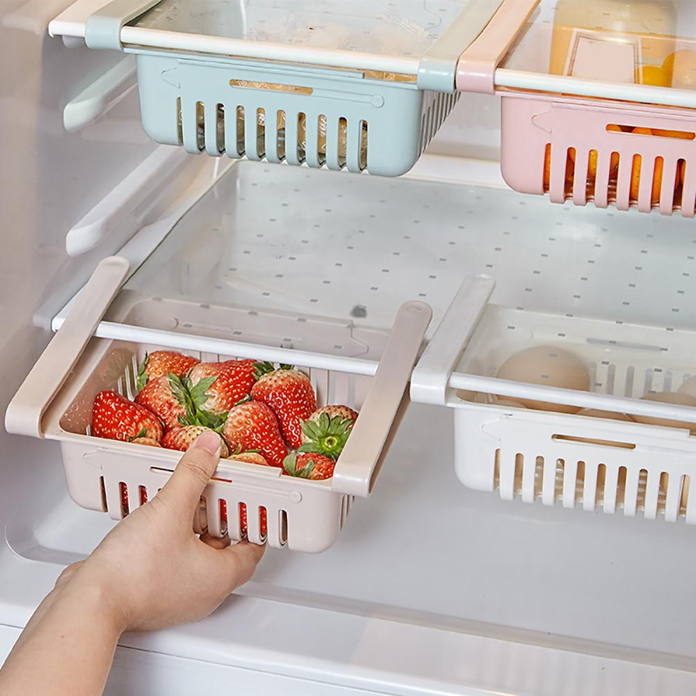 Slide Clamping Fridge Pull-out Basket - SHOPPLEHUB