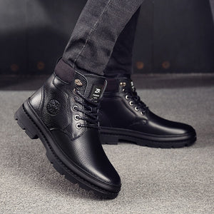 Men's Casual Winter Boots - SHOPPLEHUB