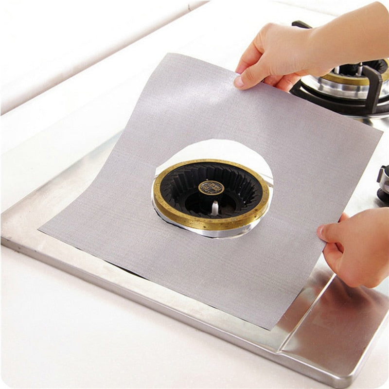 4pcs Reusable Gas Stove Protector - SHOPPLEHUB