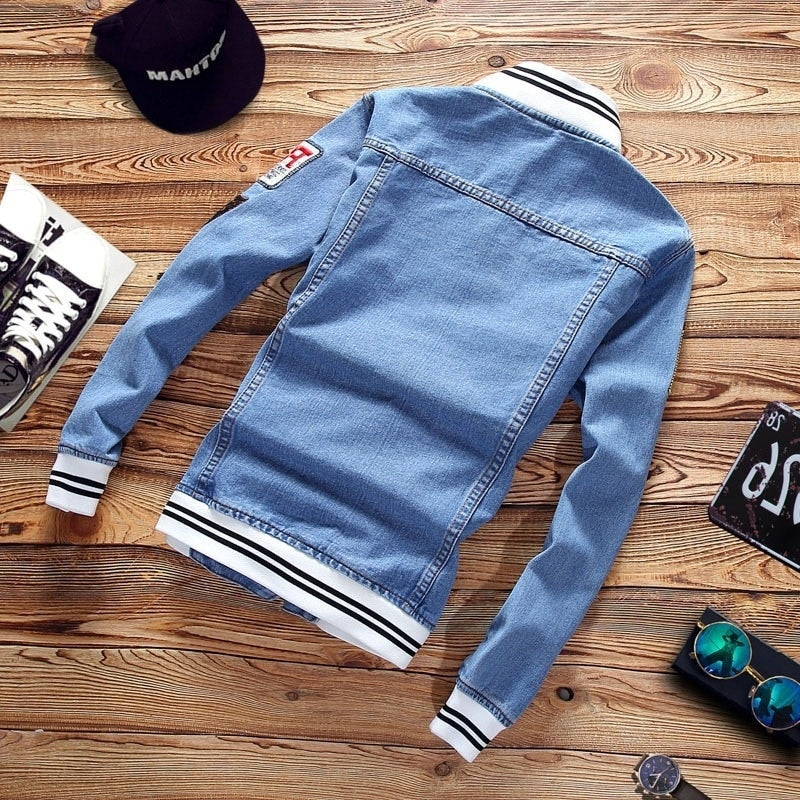 LBL Denim Jacket - SHOPPLEHUB