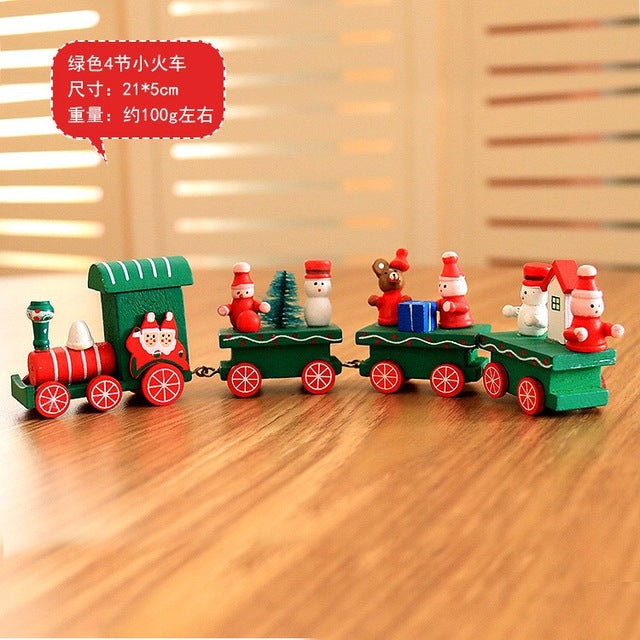 Kids Christmas Themed Wooden Toys - SHOPPLEHUB