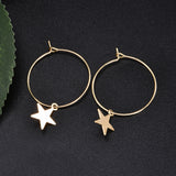 Bohemian Star Drop Earrings - SHOPPLEHUB