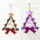 Christmas Garland With Battery Powered LED Light - SHOPPLEHUB