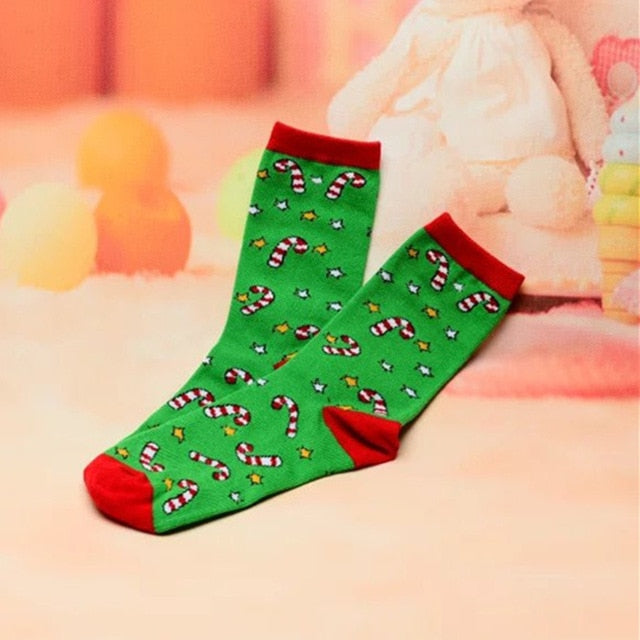 Christmas Themed Socks - SHOPPLEHUB