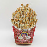 French Fries Rainbow Clutch - SHOPPLEHUB