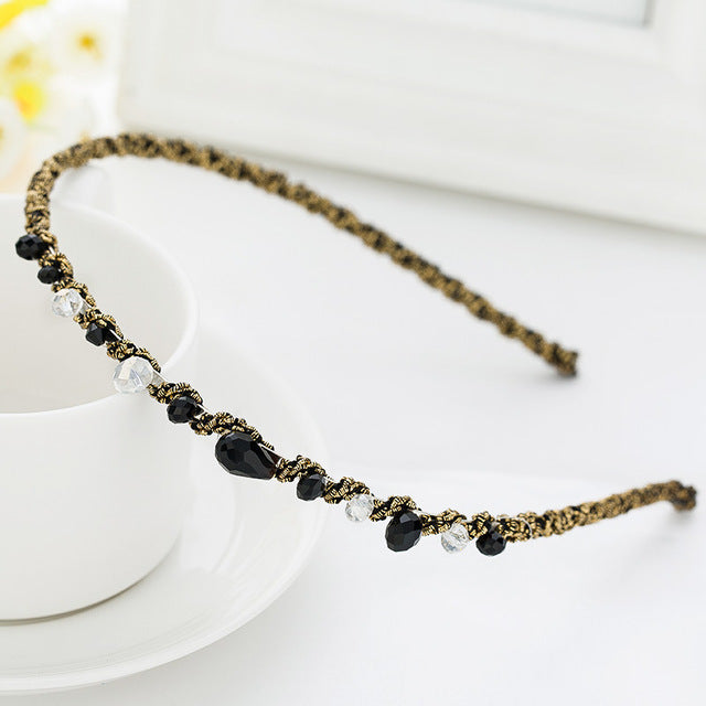 Rhinestone Headband - SHOPPLEHUB