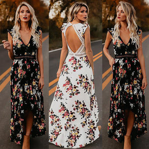Boho Beach Holiday Maxi-dress - SHOPPLEHUB
