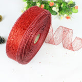 Christmas Themed Metallic Ribbon - SHOPPLEHUB