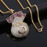 Money Bag Pendant Necklace - SHOPPLEHUB