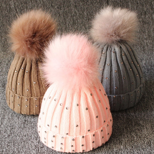 Kids Sequin Winter Beanie - SHOPPLEHUB