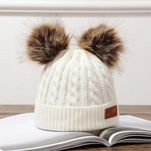 Kids Knitted Beanies (Unisex) - SHOPPLEHUB