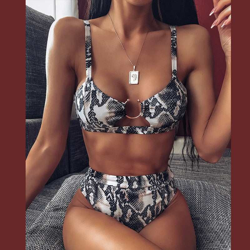 High Waist Bikini Set - SHOPPLEHUB