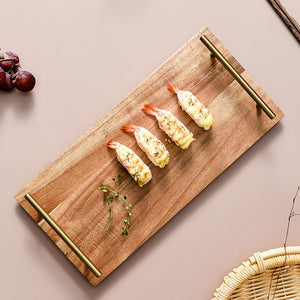 Wooden Snack Tray - SHOPPLEHUB