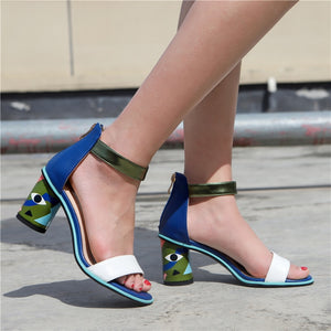 Peep Toe Heels - SHOPPLEHUB
