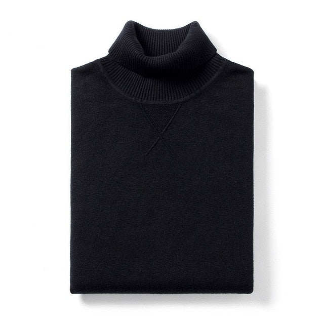 Casual Turtleneck Sweater - SHOPPLEHUB