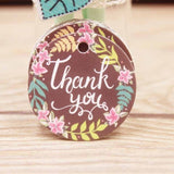 Luxe Kraft Paper Labels/Tags  (100pcs) - SHOPPLEHUB