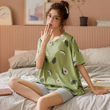 Avocado Print Sleepwear Set - SHOPPLEHUB