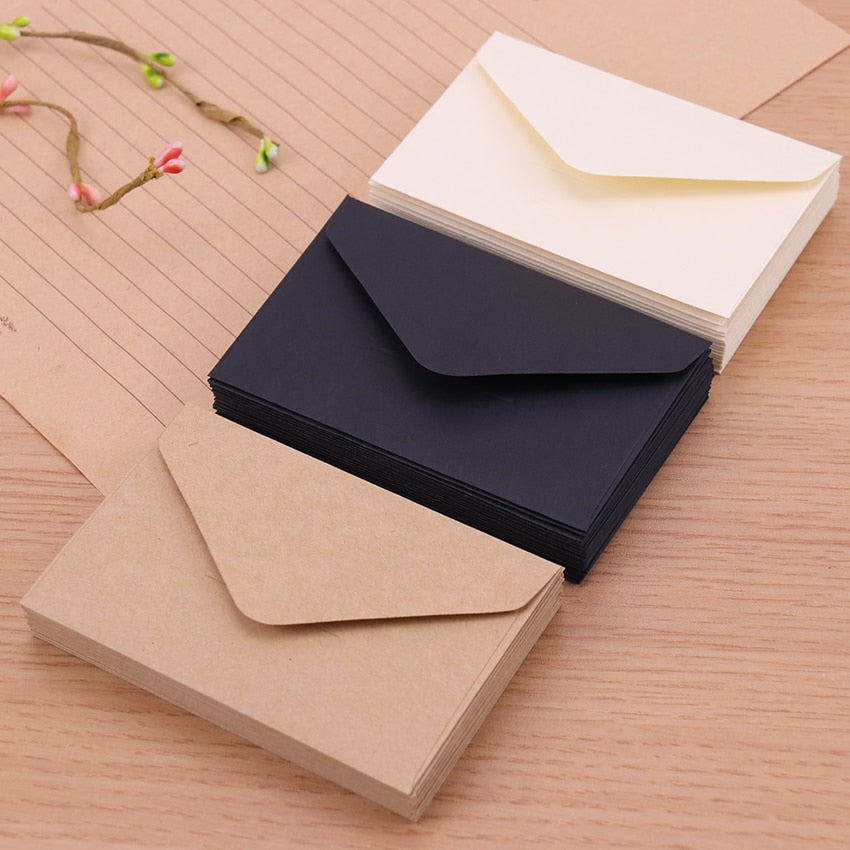 Classic Kraft Mini Envelopes (20pcs) - SHOPPLEHUB