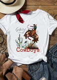 Go Wild West Cowboys T-Shirt - SHOPPLEHUB
