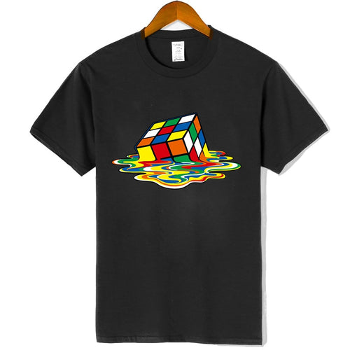 Rubix's Cube Printed T-Shirt - SHOPPLEHUB