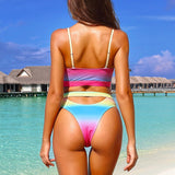 Rainbow Bikini Set - SHOPPLEHUB