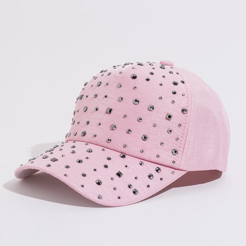 Rhinestone Baseball Cap - SHOPPLEHUB