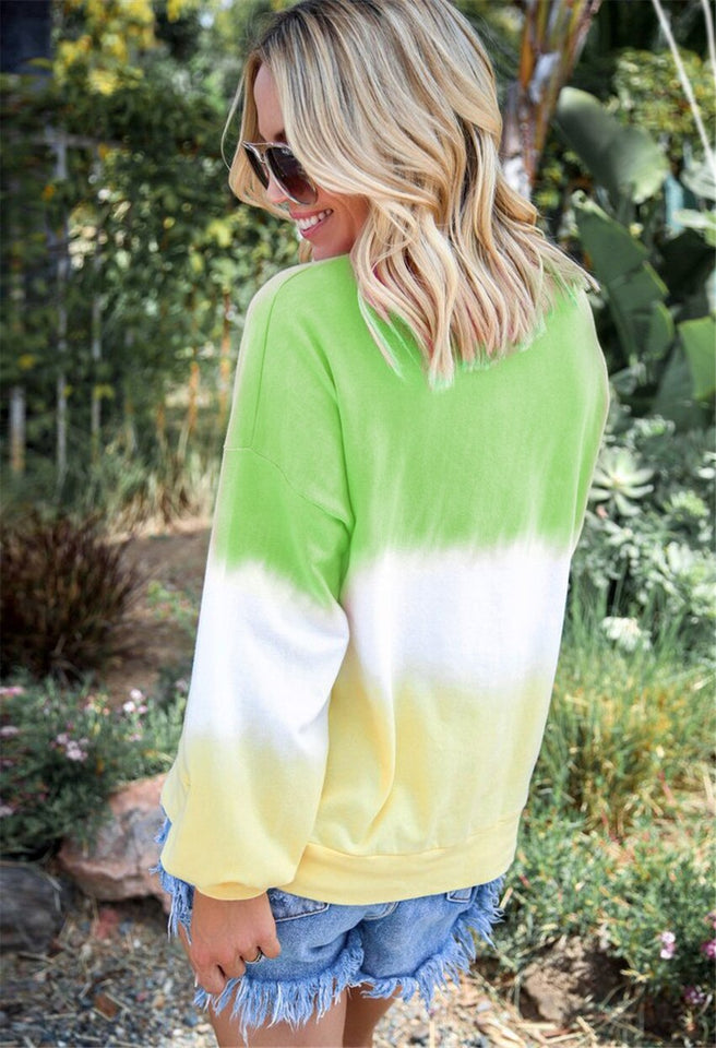 Maria Tie-dyed Sweatshirt - SHOPPLEHUB