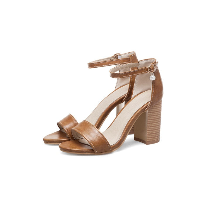 Sunset Runway Strappy Sandals - SHOPPLEHUB