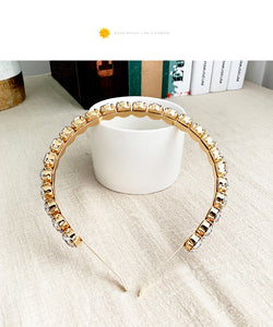 Zircon Embellished Headband